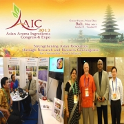AAIC 2012 Expo- Asian Aroma Ingredients Congress & Expo 2012